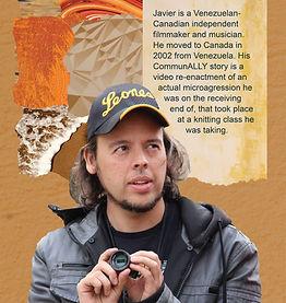 Javier Badillo's ComunALLY story graphic