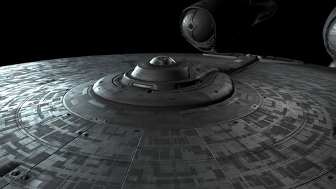 Star Trek - Work: Textures Exploration. Shaders development, create and paint materials - environment, lighting and rendering