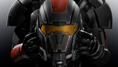 Mass Effects3 - Shepard - Work: Character Look Development. Shaders development, create materials - Posing exploration, environment, lighting and rendering