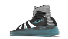 Adidas Basketball - Exploration, design and development - Work: 3D modeling, texture painting, environment and shaders development and color correction Software: Autodesk Maya, Adobe Photoshop and Illustrator - Rendering system: Chaos - V-Ray
