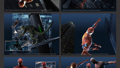 Spiderman 3 - Work: Character Look Development. Background props 3D modeling - Shaders development, create and paint materials - Posing exploration, environment, lighting and rendering
