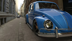 Volkswagen Classic - Promo - Work: Modeling, lighting and texturing Software: Autodesk Maya, Adobe Photoshop - Rendering system: KeyShot
