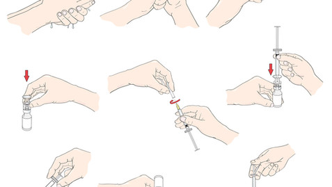 Betaject Hands - Print and Digital Art - Work: How to Inject - Adobe Illustrator art