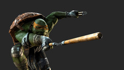 TMNT - Mikey - Work: Character Look Development - 3D Modeling and texturing. Nunchaku - Shaders development, create materials - Posing exploration, environment, lighting and rendering