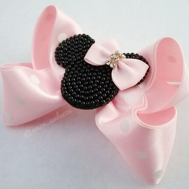 Laço Personalizado -Minnie