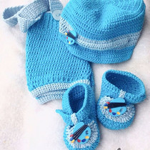 Kit - Croche -Boina-Sapatinho