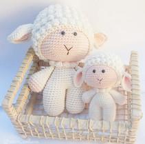 Kit - Ovelha -Mãe e filha