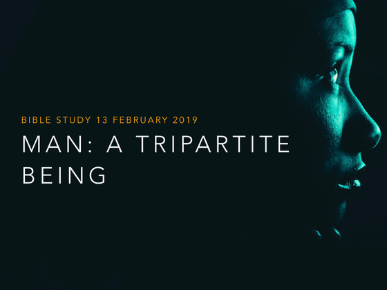 Man: A Tripartite Being