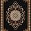 Thumbnail: CHATAEU 020 BLACK ORIENTAL AREA RUG