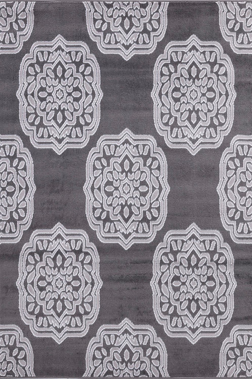 CHATEAU 19 GRAY MOROCCAN AREA RUG