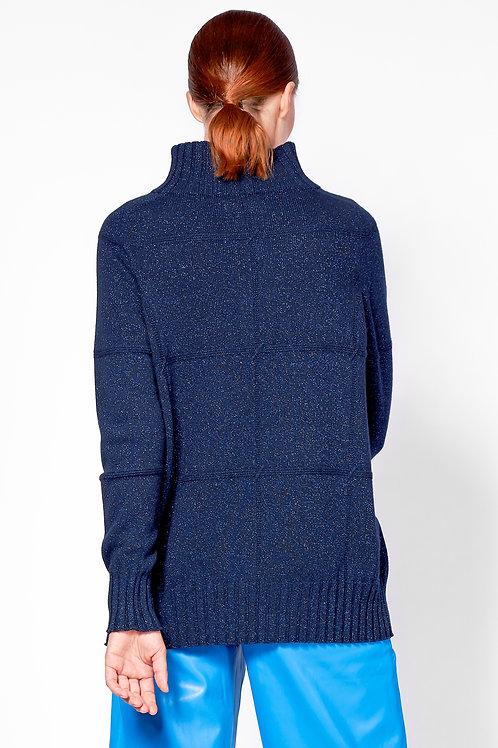 oversized pullover dunkelblau