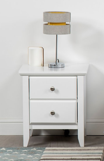 Bedside Table (White)