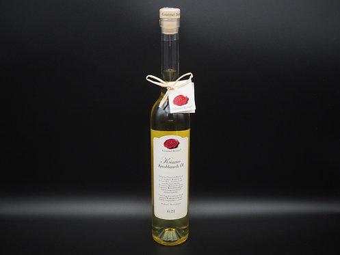 Kräuter-Knoblauch Öl