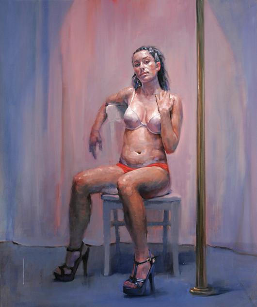 Pole dancer, Amber