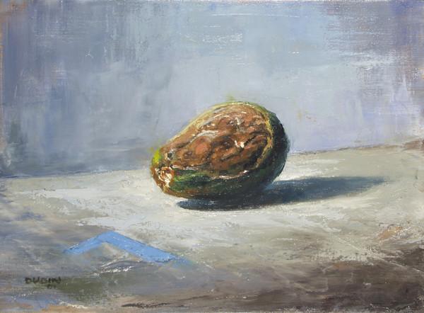Rotting avocado
