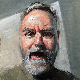 Man with open mouth