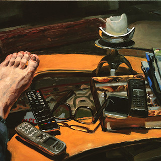 Still life with my left foot
