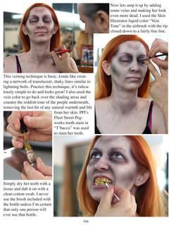 p164 Haunted House Makeups