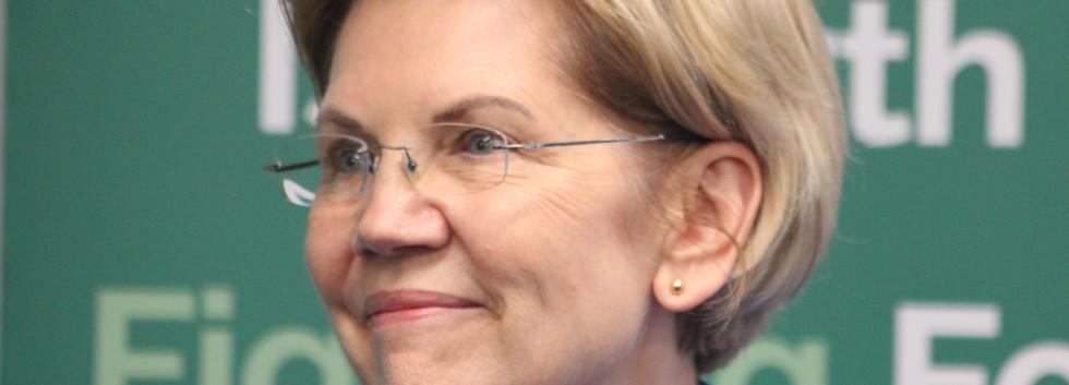U.S. Senator Elizabeth Warren of Massachusetts