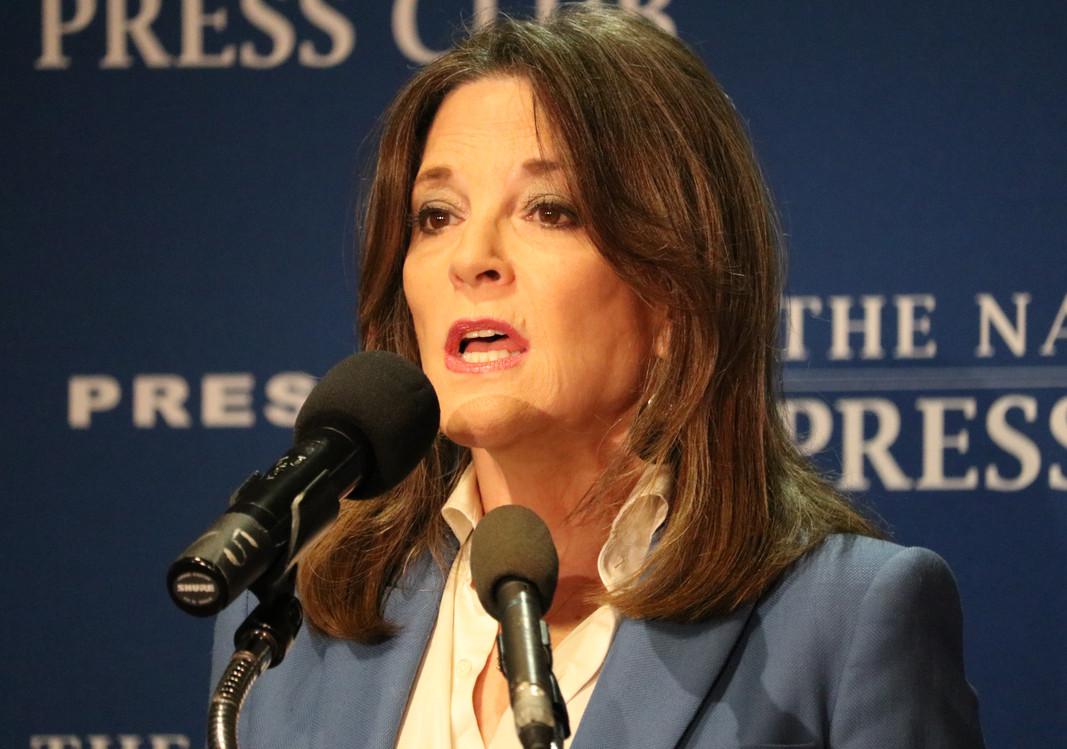 Author, 2019 Presidential Candidate Marianne Williamson