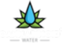 Cannabinoid Water Logo Black Background