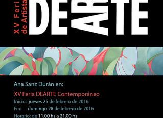DeArte 2016 (XV Feria de Arte Contemporaneo)