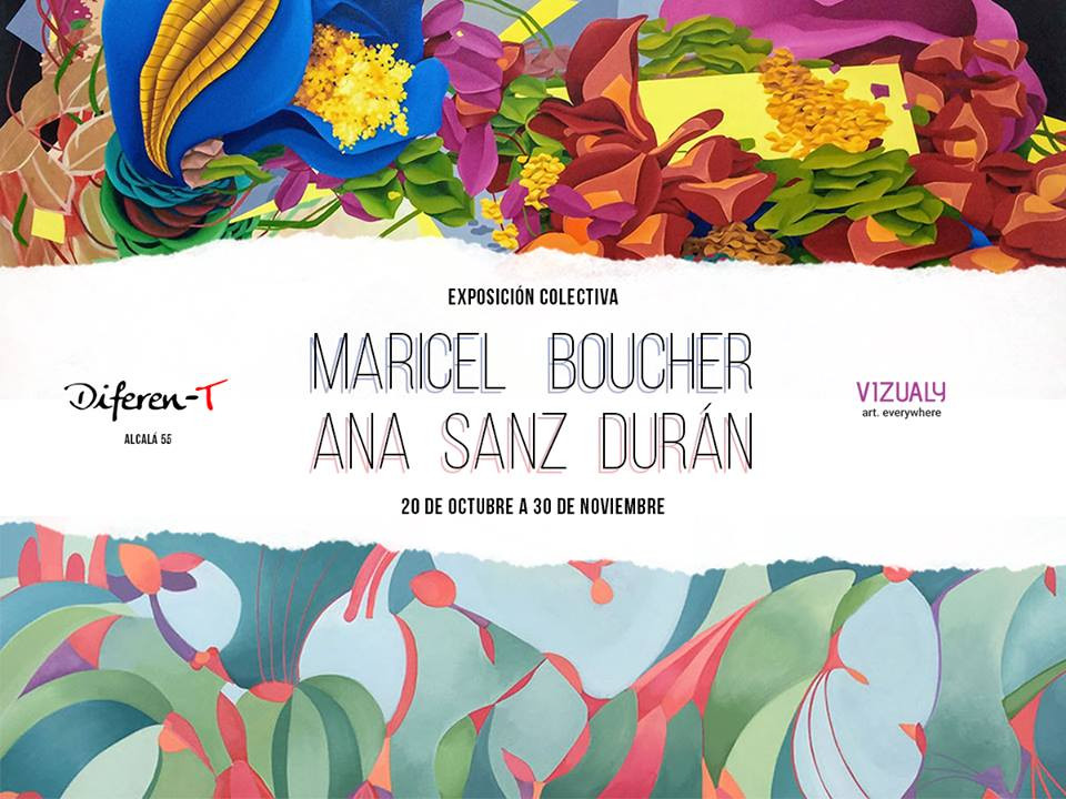 Exposición colectiva del 25 de octubre al 12 de diciembre