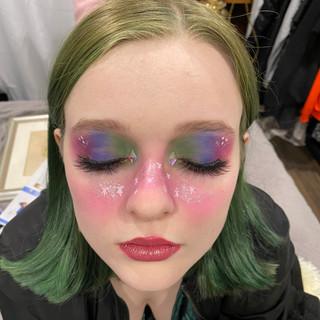 Makeup by Madeline McHugh