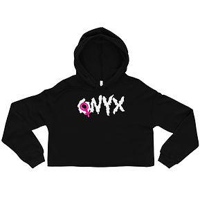 ONYX Splatter Text Crop Top Hoodie.jpg