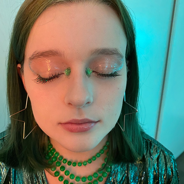 Makeup by Madeline McHugh