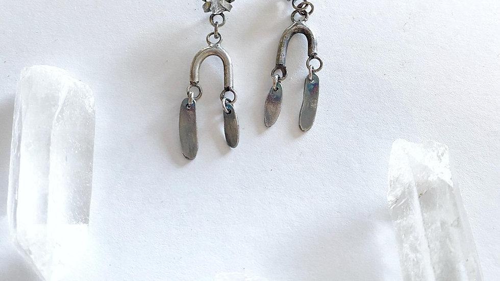 Herkimer Diamond Nola Earrings