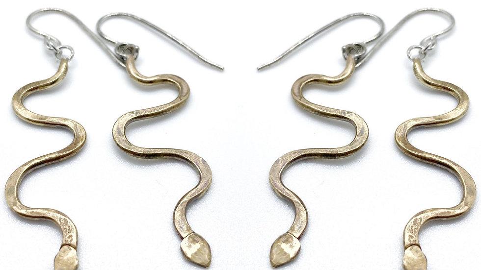 Snake Relic Earrings
