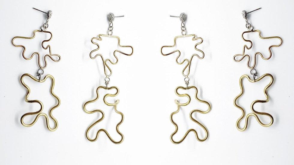 Mist Column Earrings