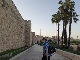 Walking towards Jaffa Gate | Jerusalem, Israel