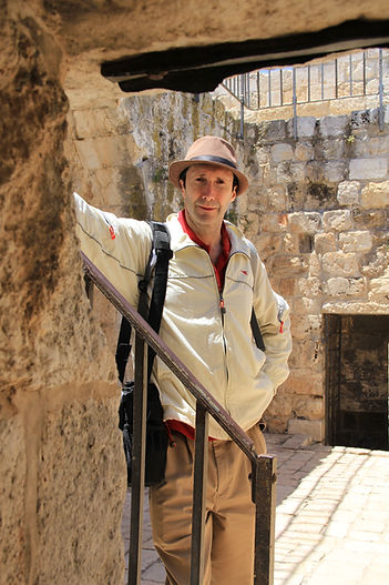 Walking on the Jerusalem Walls with Adiel Israel Tours
