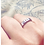 Thumbnail: Stackable ring; handstamped ring