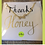 Thumbnail: Calligraphy card; handmade card; jewellery gift card