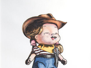 Cowgirl VE1:10