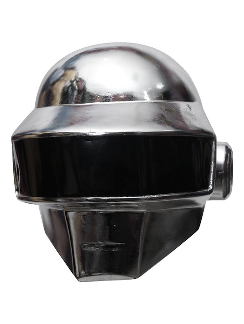 Casco Daft Punk plateado