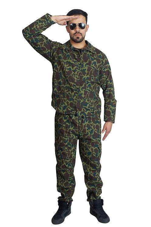 Soldado camuflaje