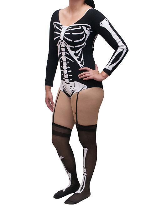 Leotardo esqueleto