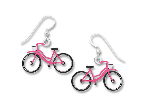 Pink Bicycle - No Spokes