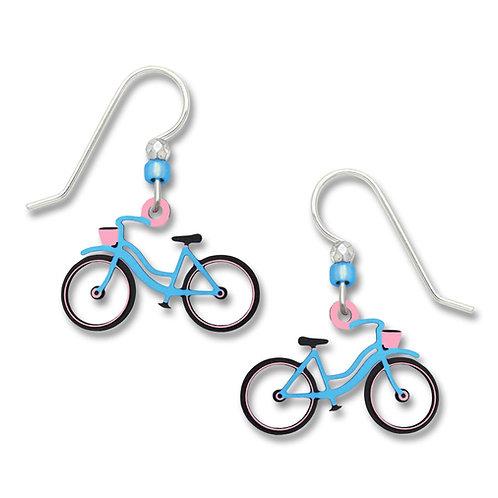 Blue Bicycle - No Spokes