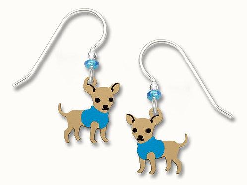 """""""Hugo"""" Chihuahua w/Blue Coat"""