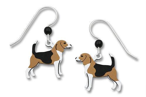 "Tan, Black & White Beagle Dog  ""Barney"""