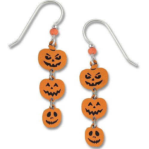 Triple Halloween Pumpkins
