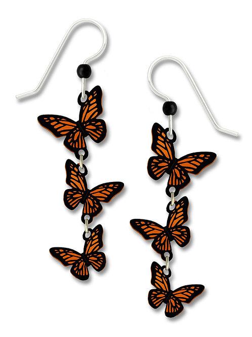 3-part 3-D Monarch Butterflies