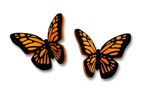Small Folded Monarch Butterfly - Post