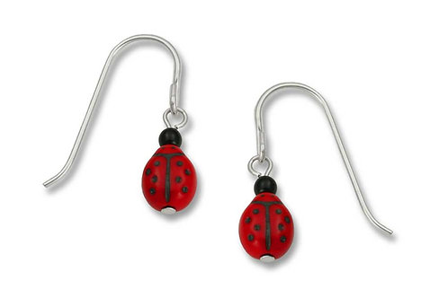 Red glass ladybug