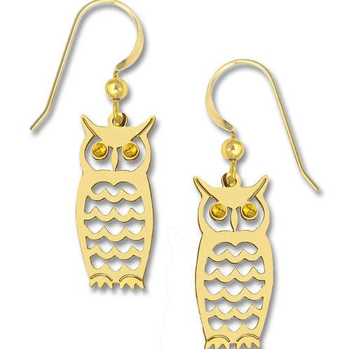 GP Owl w/golden jewel eyes